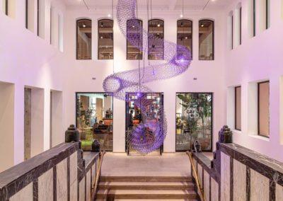 Newkantoor-Capital C-hal trappenhuis