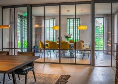 Vergaderruimte met deuren